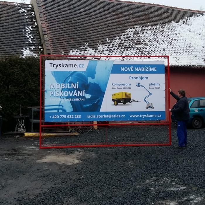 tisk reklamního banneru