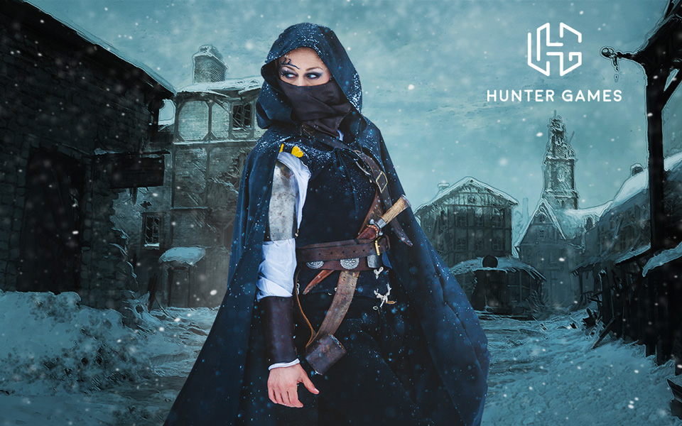 grafický návrh hry huntergames