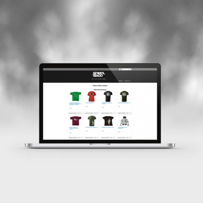 tvorba webu-webdesign-spiralshop