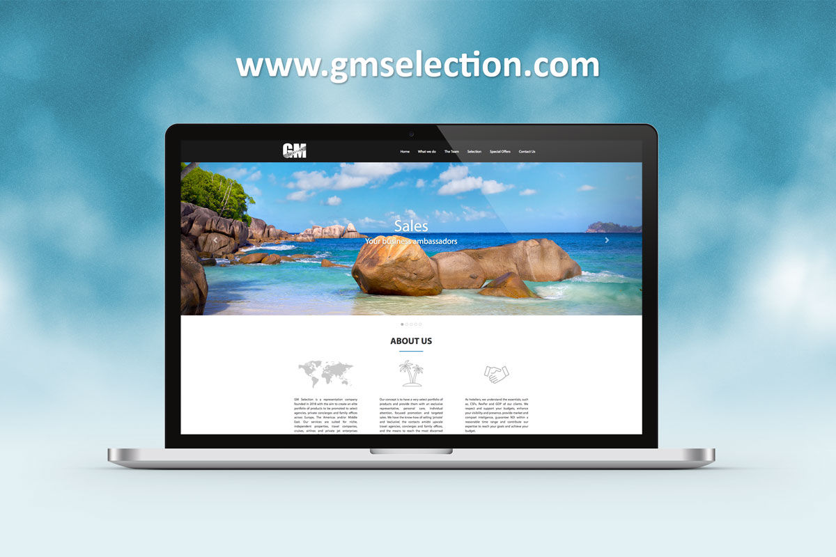 tvorba webových stránek gm