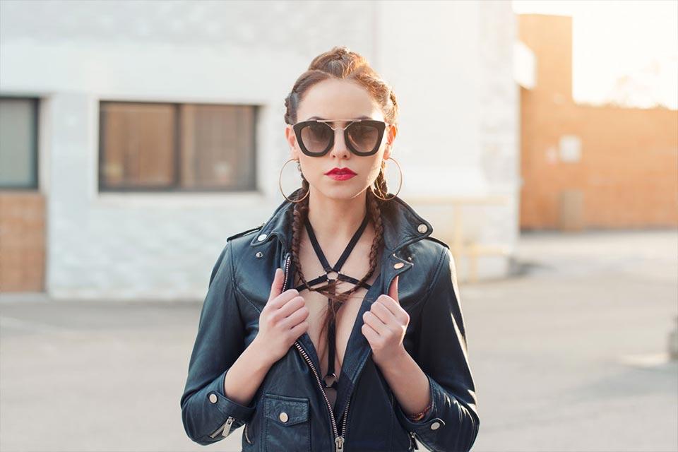 modelka fashion foto